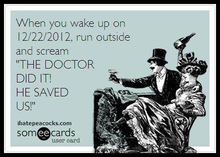 The Doctor Saved Us